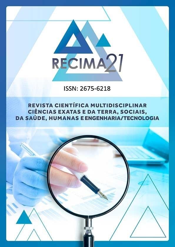Capa da Revista RECIMA21